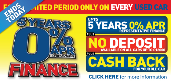 5 Years 0% APR Event