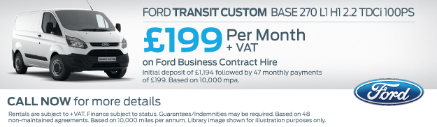 Ford Transit Custom Contract Hire
