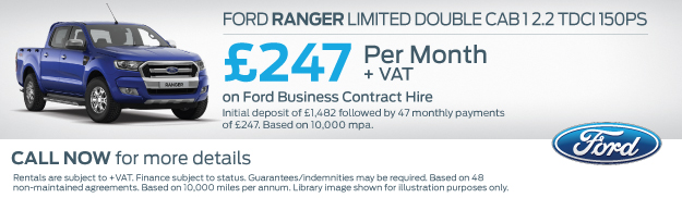 Ford Ranger Contract Hire