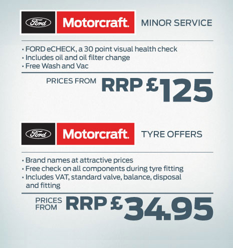 Ford Motorcraft 4+ Car Offers