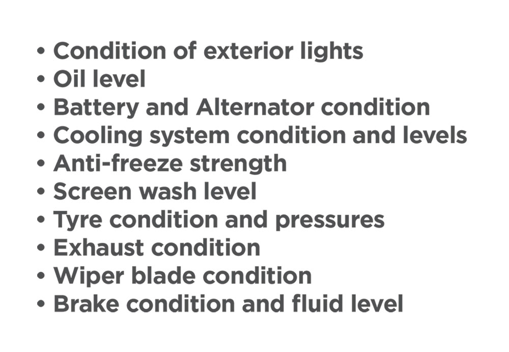 Winter Car Care Kit Listing