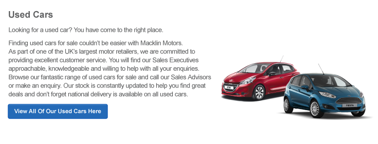 Used Cars For Sale   Second Hand Cars   Used Car Sales   Macklin Motors