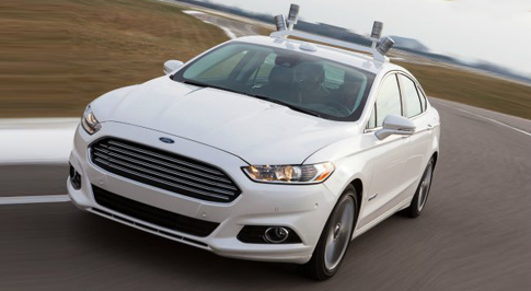 Ford Driverless Car Tackles Winter Weather
