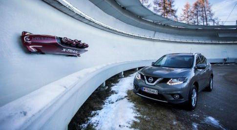 Nissan Create X-Trial Inspired Bobsleigh