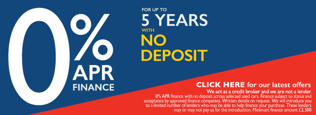 5 Years 0% APR Offers - MM