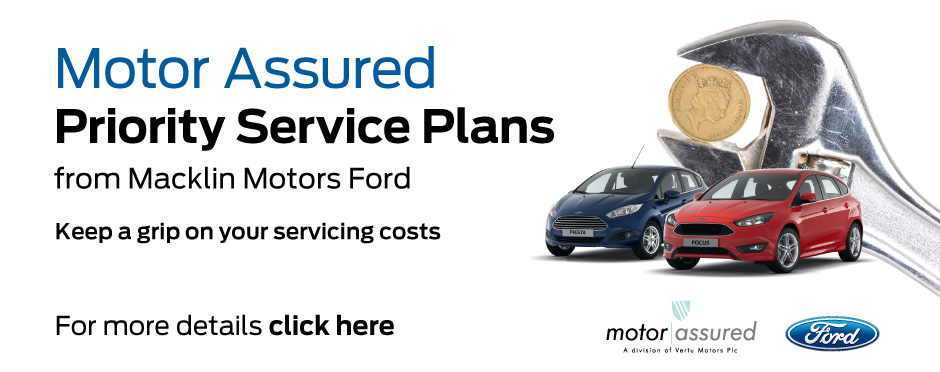 Ford Macklin Motors Priority Service Offer