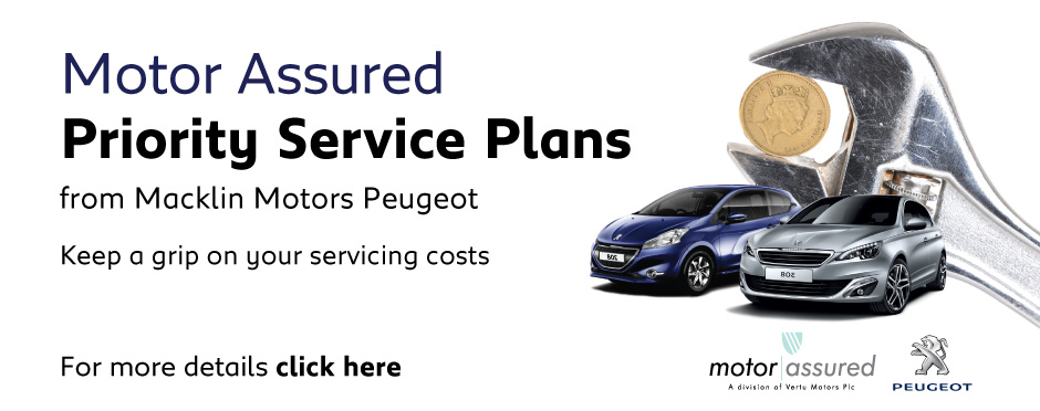 Peugeot Macklin Motors Priority Service Offer