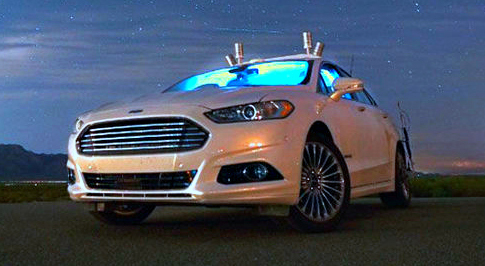 Ford�s self-driving cars can see in the dark