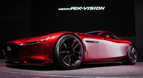 Mazda could bring the RX Vision concept to life