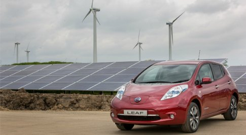 Nissan Manufacturing is helped by Solar Power