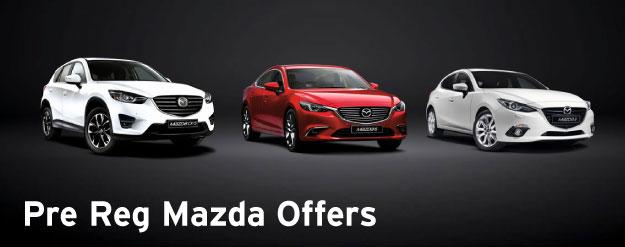 Mazda Pre Reg Deals | Macklin Motors