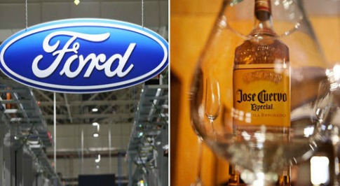 Ford in Surprise Team Up With Jose Cuervo Tequila