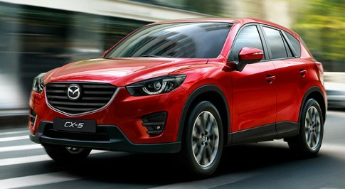 New 2017 Mazda CX-5 SUV spotted for the first time