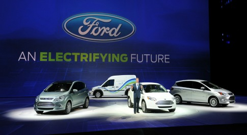 Ford Developing New Electric Cars