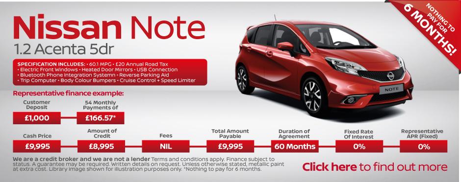 Nissan note deals glasgow