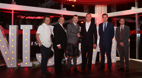 Olympian joins the opening of Nissan Glasgow Central