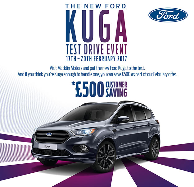 Ford Kuga Test Drive Event