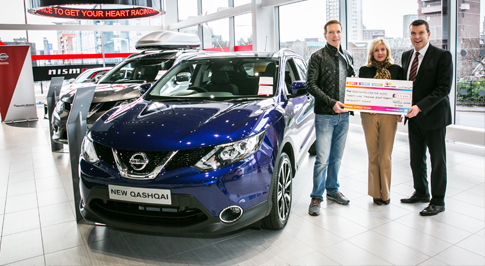 Nissan Glasgow Central partners with local charity