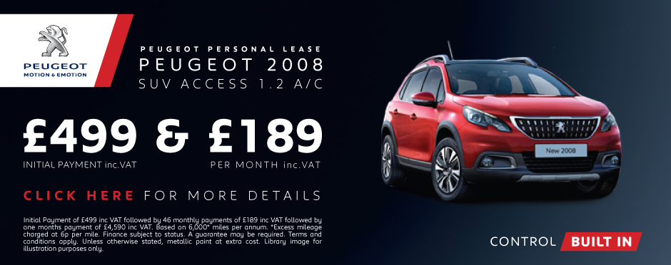 Peugeot 2008 SUV Access