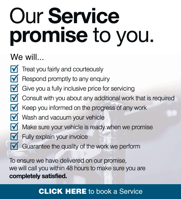 Our Service Promise To You