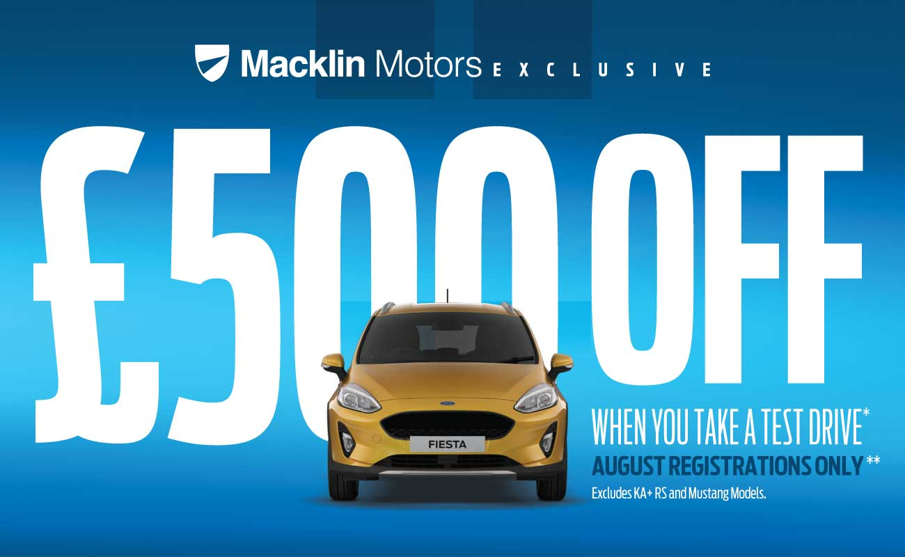 �500 Off New Car August 2018 - MM Ford