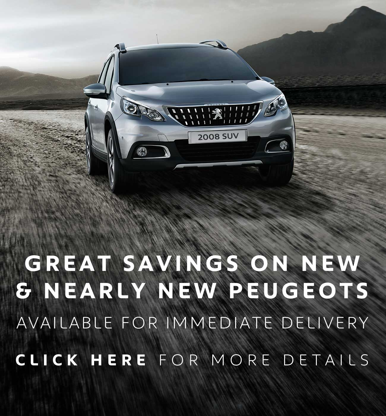 MM Great Savings on New and Nearly New Peugeots