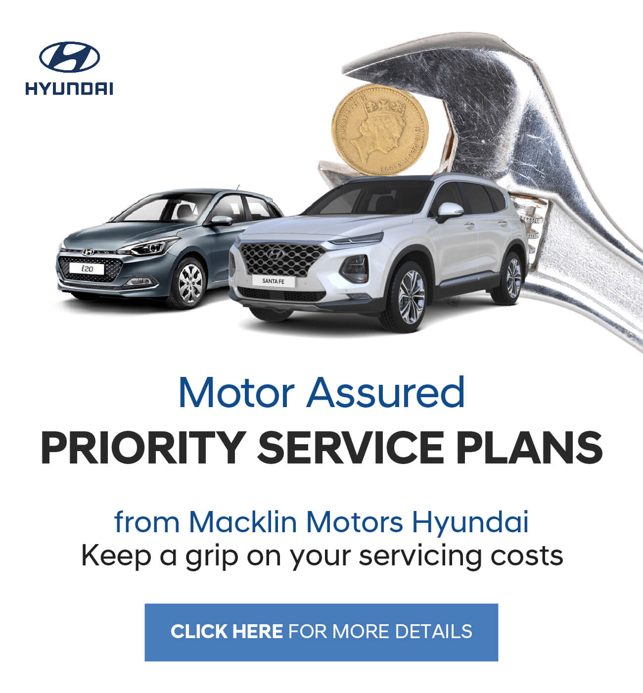 Hyundai Macklin Motors Priority Service Offer
