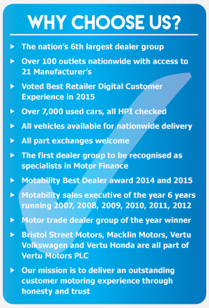 Why buy from Macklin Motors