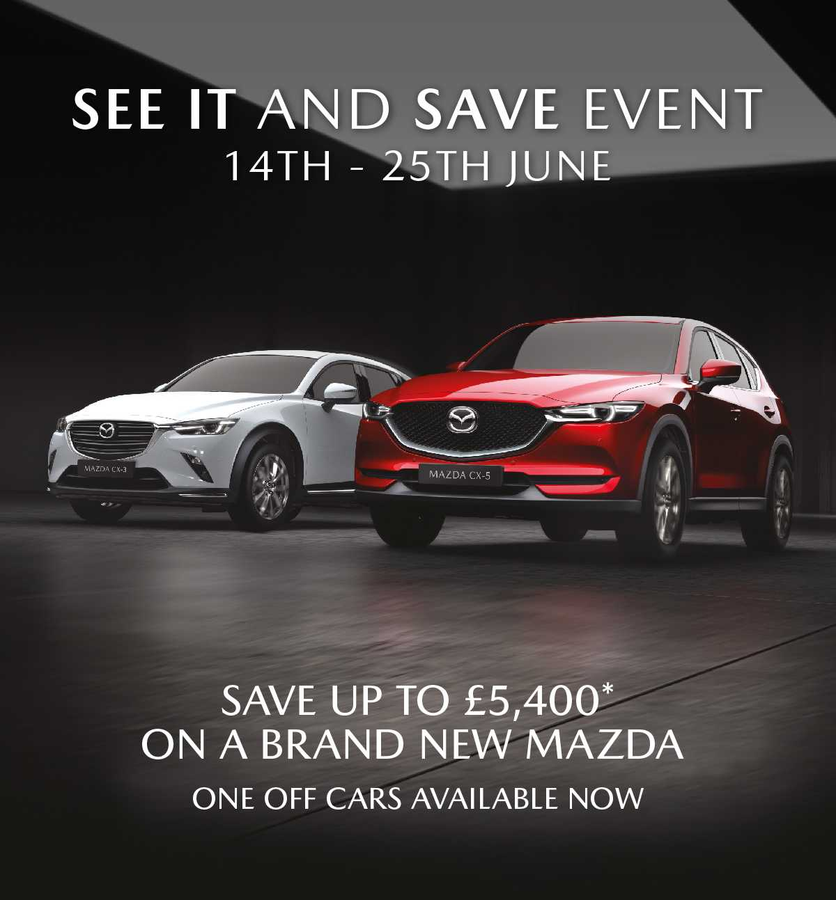 Mazda SEE IT and SAVE Event