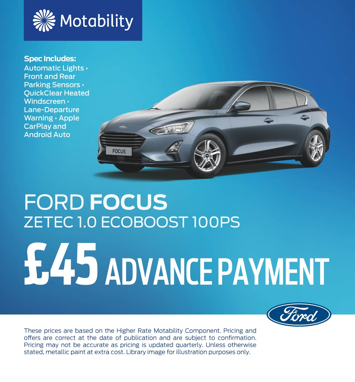 Ford Focus 080719 Banner 1