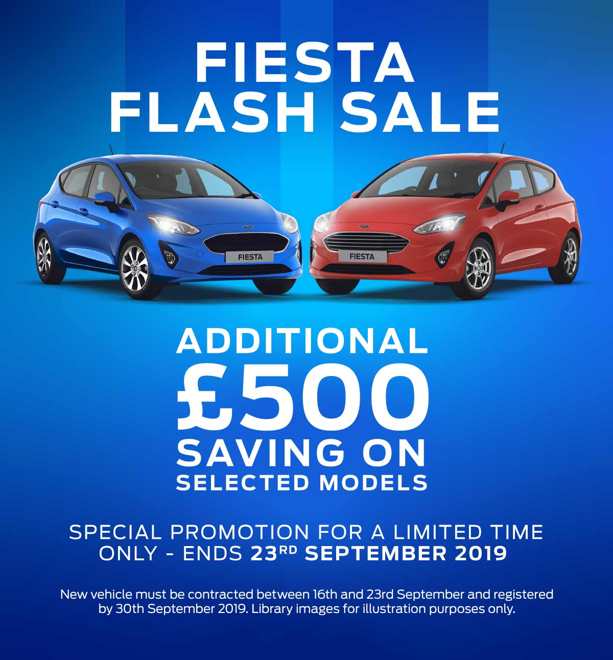 (Ford Fiesta) Ford Fiesta Flash Sale Banner 1 160919