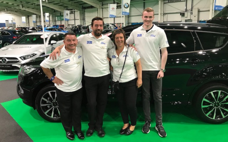Macklin Motors Attend 'One Big Day' Motability Event In Edinburgh