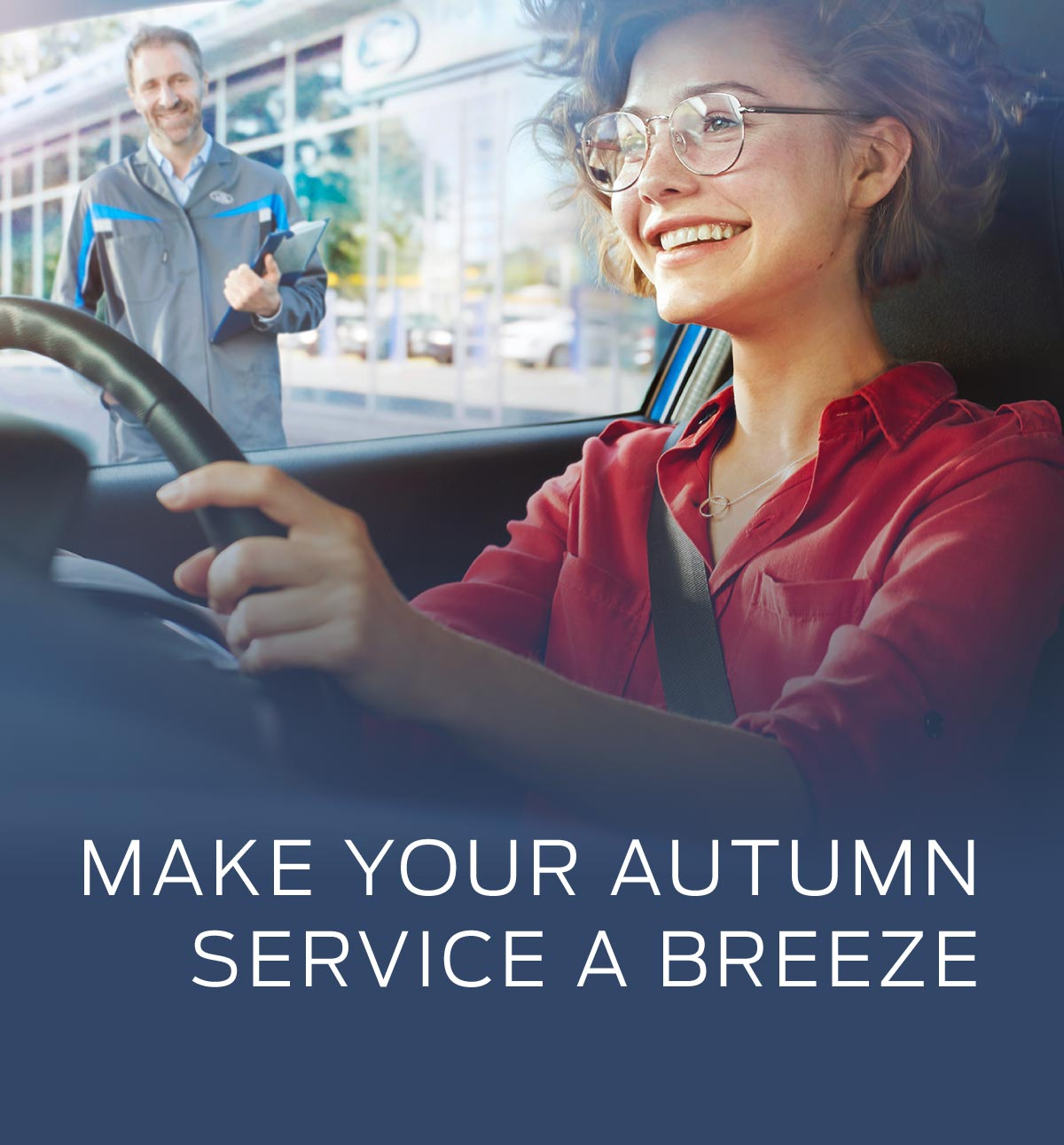 Ford Autumn Service Banner