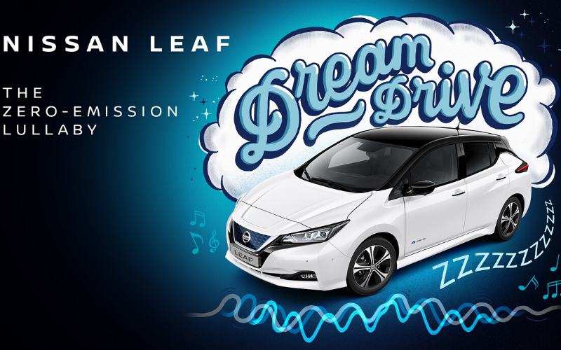 Nissan Create Lullaby To Help Send Children To Sleep In The Leaf