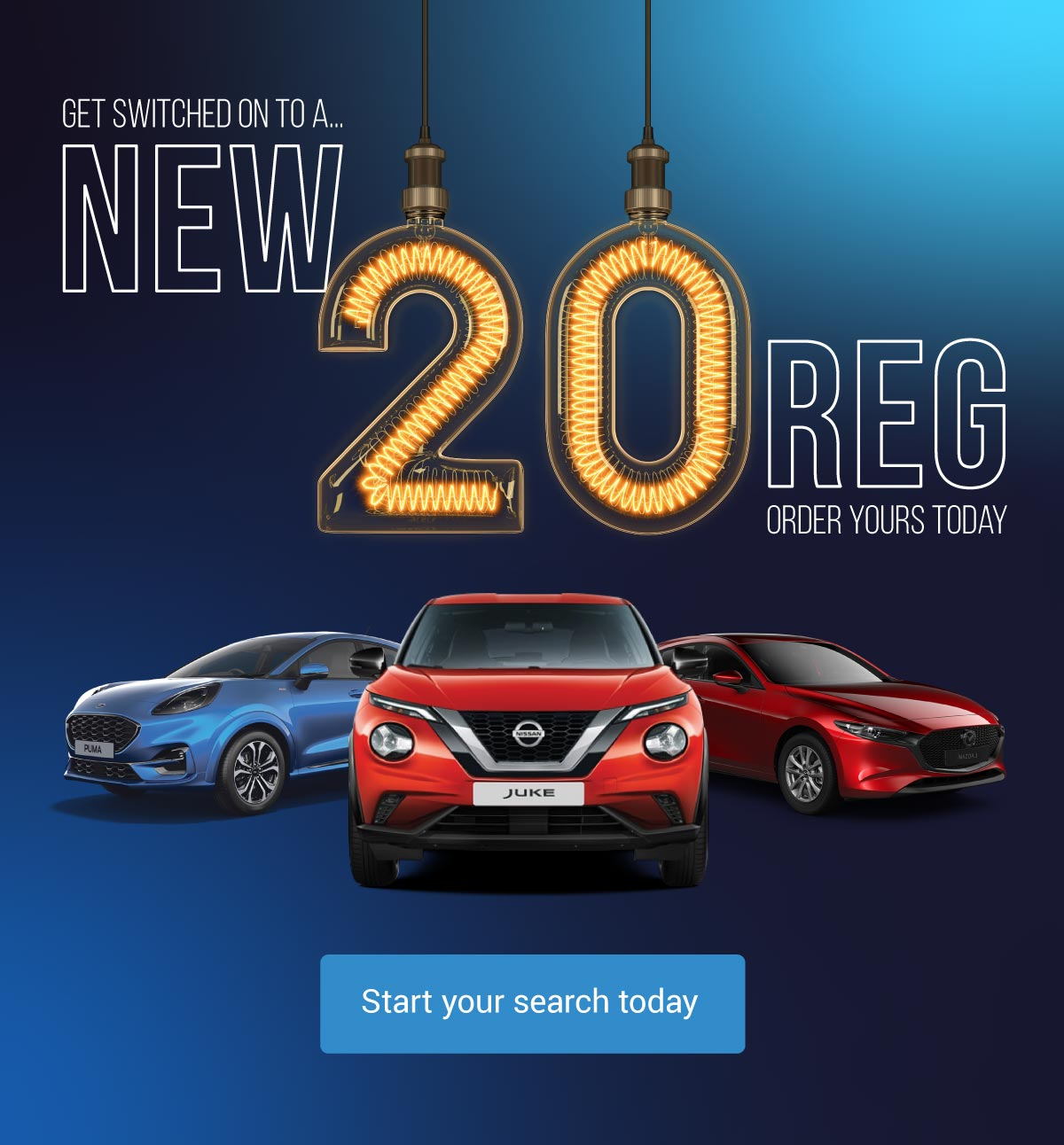 20 Reg New Car Banner - MM