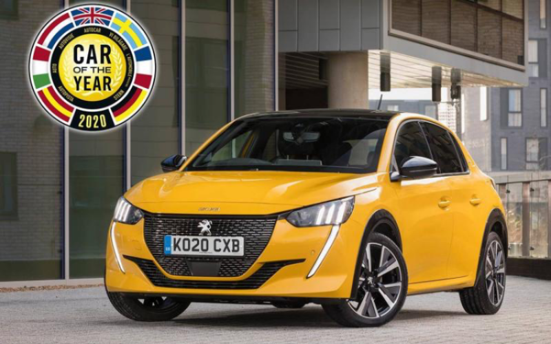 The Peugeot 208 Is Named Car Of The Year 2020
