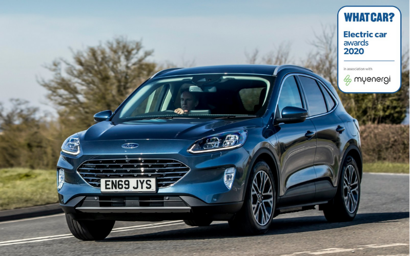 Ford Kuga Phev Named Best Large Hybrid Suv At What Car Electric Awards 2020 Macklin Motors
