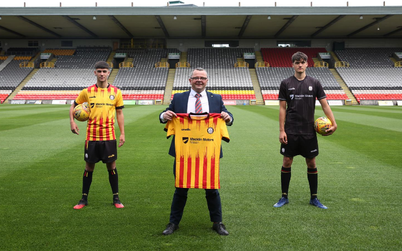 Macklin Motors Glasgow Nissan Central continues support for Partick Thistle
