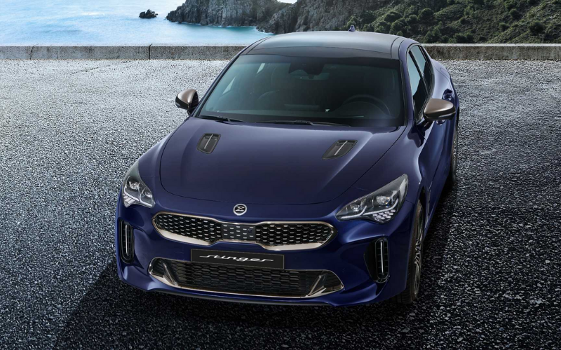 The Kia Stinger Is Being Refreshed For 2021