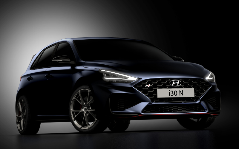 First Images of New Hyundai i30 N Have Been Released