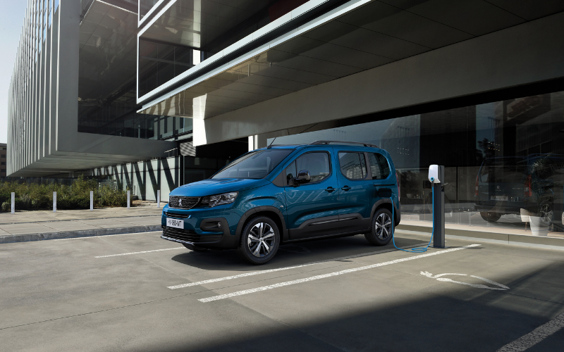 New E-Rifter Joins Peugeot's Electric Van Range