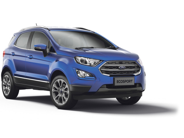 Ford EcoSport 1.0 EcoBoost 125 Titanium [Lux Pack] 5dr Auto Petrol Hatchback
