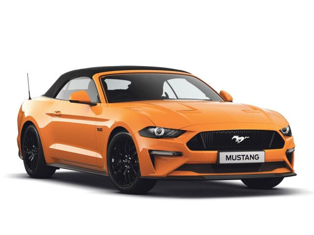Ford Mustang 5.0 V8 Gt 2Dr Petrol Convertible
