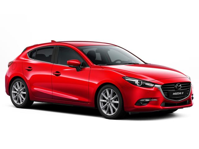 New mazda 3 2 0 se l nav 5dr petrol hatchback motability for Modern motors used cars