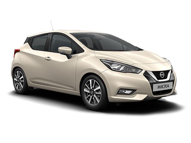 New Nissan Micra Acenta