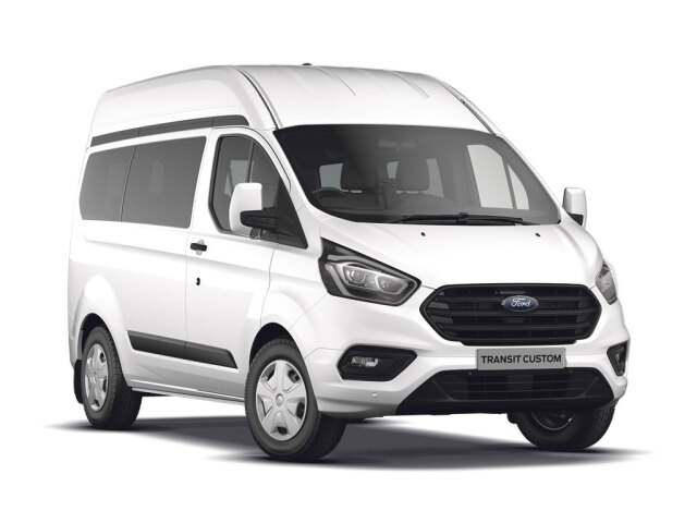 Ford Transit Custom 340 L2 Diesel Fwd 2.0 Tdci 170Ps High Roof Kombi Trend Van