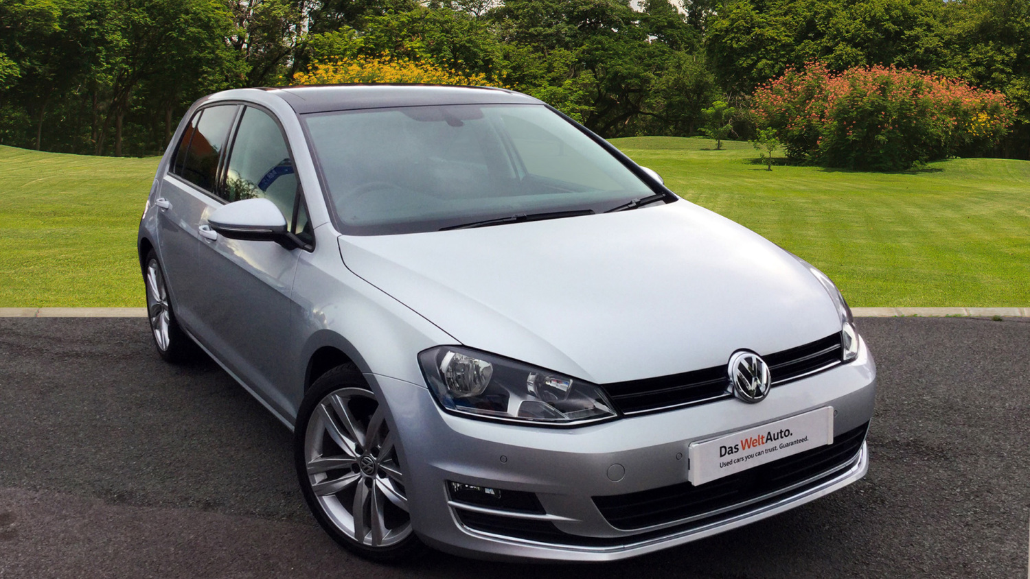 used volkswagen golf 1 4 tsi 150 gt edition 5dr dsg petrol hatchback for sale in scotland. Black Bedroom Furniture Sets. Home Design Ideas