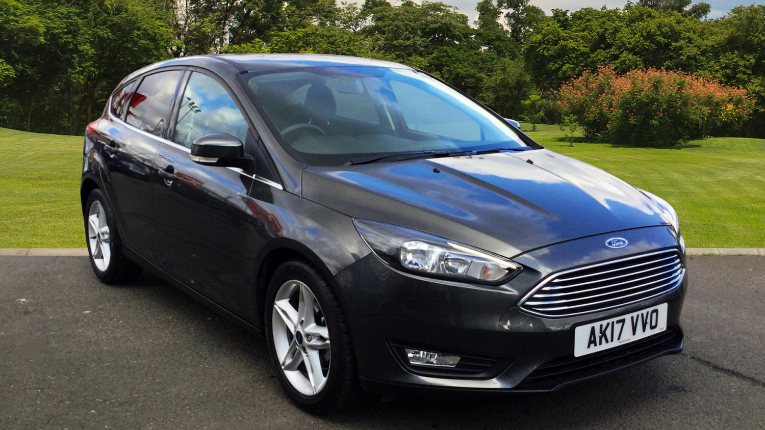used ford focus 1 0 ecoboost 125 zetec edition 5dr auto petrol hatchback for sale in scotland. Black Bedroom Furniture Sets. Home Design Ideas