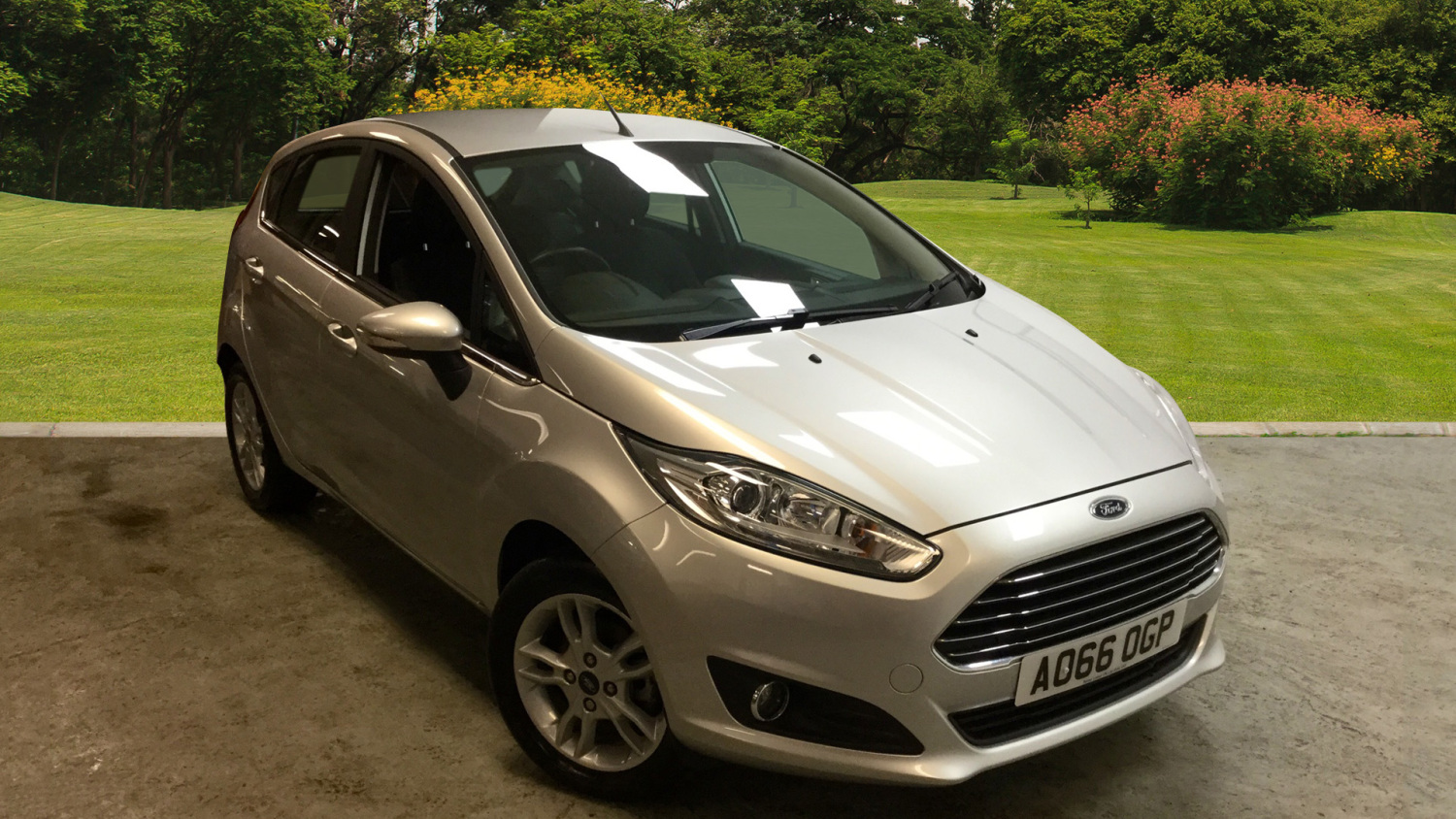 used ford fiesta 1 6 zetec 5dr powershift petrol hatchback for sale in scotland macklin motors. Black Bedroom Furniture Sets. Home Design Ideas