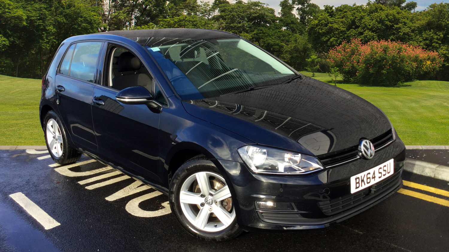 used volkswagen golf 1 6 tdi 105 match 5dr diesel hatchback for sale in scotland macklin motors. Black Bedroom Furniture Sets. Home Design Ideas